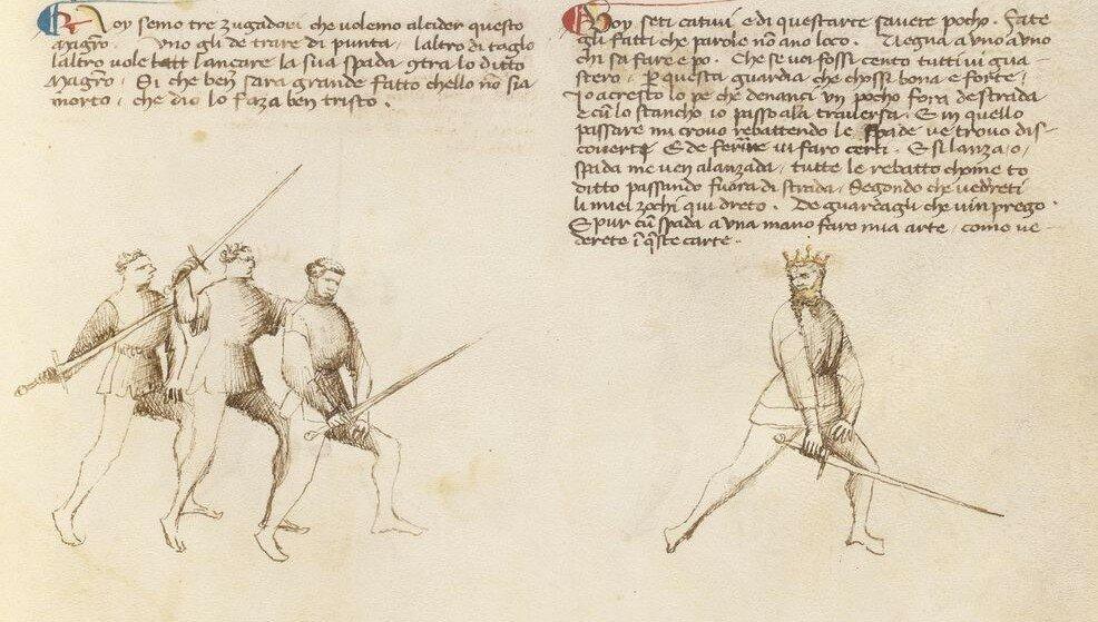 Fior di Battaglia [MS Ludwig XV 13 20r]